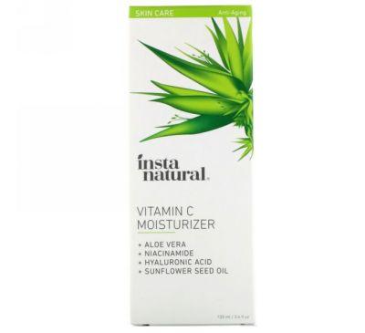 InstaNatural, Увлажняющее средство с витамином С, 3,4 ж.унц. (100 мл)
