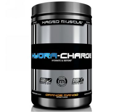 Kaged Muscle, Hydra Charge, апельсин, манго, 9,73 унц. (276 г)