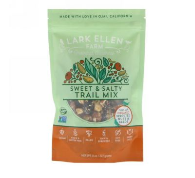 Lark Ellen Farm, Trail Mix, Sweet & Salty, 8 oz (227 g)