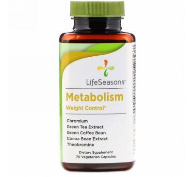 LifeSeasons, Метаболизм, контроль веса, 70 вегетарианских капсул