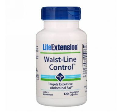 Life Extension, Waist-Line Control, 120 Vegetarian Capsules