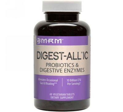 MRM, Digest-All IC, 60 вегетарианских таблеток