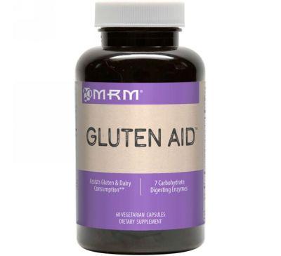 MRM, Помощь для переваривания клейковины, 60 капсул на растительной основе
