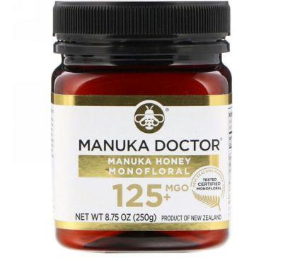 Manuka Doctor, Monofloral с медом мануки, оксид магния 125+, 8,75 унции (250 г)