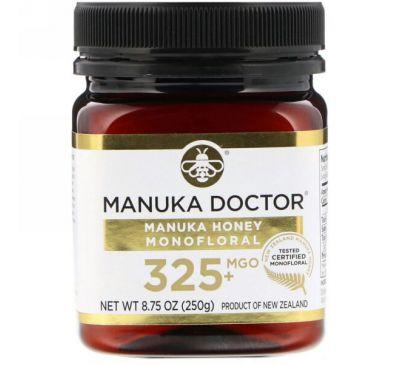 Manuka Doctor, Monofloral с медом мануки, оксид магния 325+, 8,75 унции (250 г)