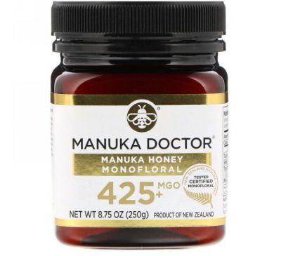 Manuka Doctor, Monofloral с медом мануки, оксид магния 425+, 8,75 унции (250 г)