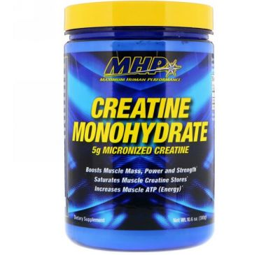 Maximum Human Performance, LLC, Creatine Monohydrate , 10.6 oz (300 g)