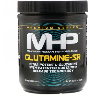 Maximum Human Performance, LLC, Glutamine-SR, 10.58 oz (300 g)