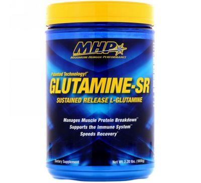 Maximum Human Performance, LLC, Glutamine-SR, 2,20 фунта (1000 г)