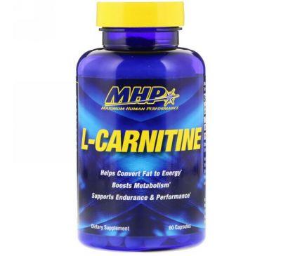 Maximum Human Performance, LLC, L-карнитин, 60 капсул