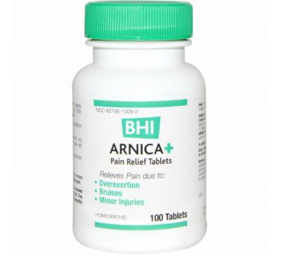 MediNatura, BHI, Арника+, 100 таблеток