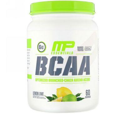 MusclePharm, BCAA Essentials, Lemon Lime, 1.03 lb (468 g)