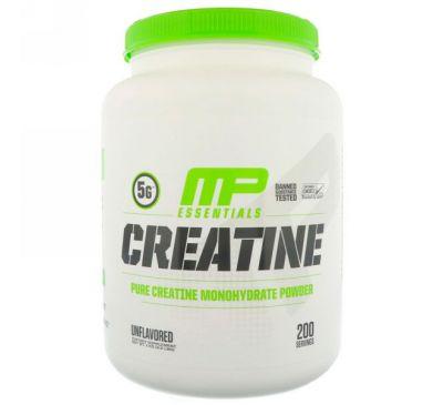 MusclePharm, Креатин Essentials, Без вкусовых добавок, 2,2 фунта (1 кг)