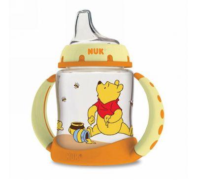 NUK, Чашка-непроливайка Winnie The Pooh от Disney Baby, 6+ месяцев, 1 чашка, 5 унций (150мл)