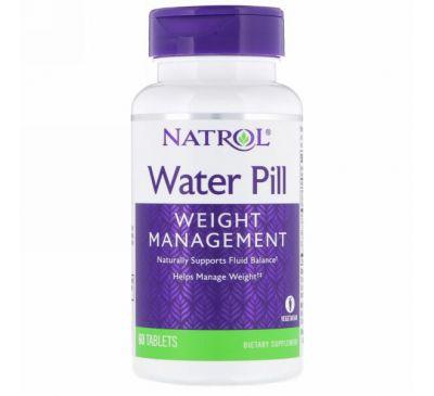 Natrol, Мочегонное средство, 60 таблеток