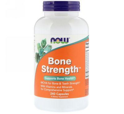 Now Foods, Bone Strength, 240 капсул