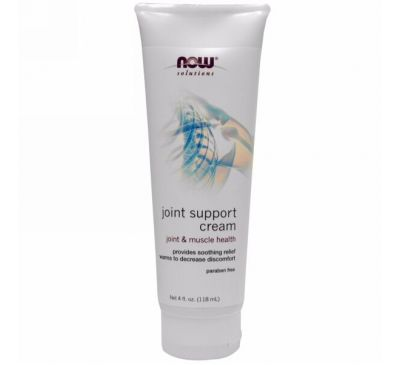 Now Foods, Joint Support Cream, 4 oz (113 g)
