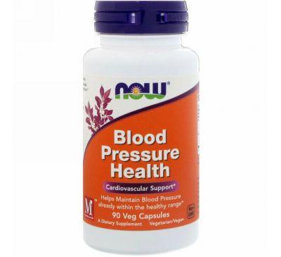 Now Foods, Здоровое артериальное давление, 90 растительных капсул