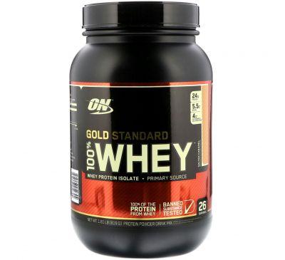 Optimum Nutrition, 100% натуральный вкус Whey Gold Standard, соленая карамель, 819 г