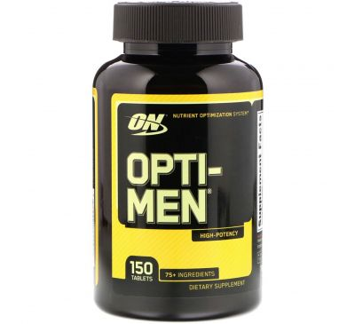 Optimum Nutrition, Opti-Men, 150 таблеток