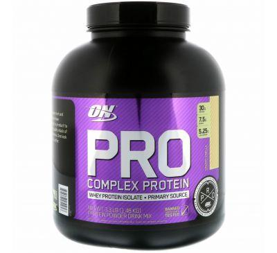 Optimum Nutrition, Pro Complex Protein, сливочная ваниль, 1,48 кг