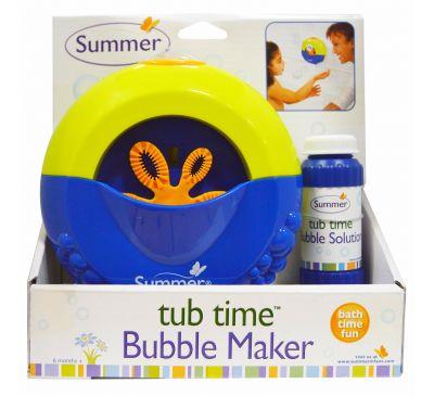 Summer Infant, Время принимать ванную, машинка для пускания мыльных пузырей