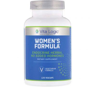 Vita Logic, Формула для женщин, 120 капсул с оболочкой из ингредиентов растительного происхождения