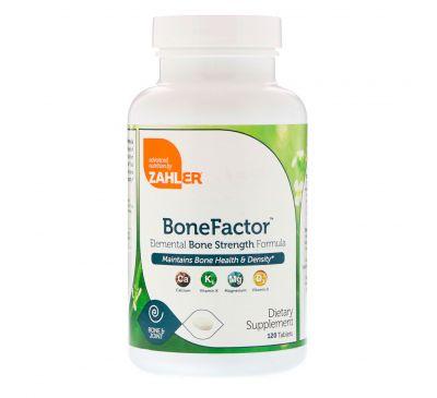 Zahler, BoneFactor, формула природной прочности костей, 120 таблеток