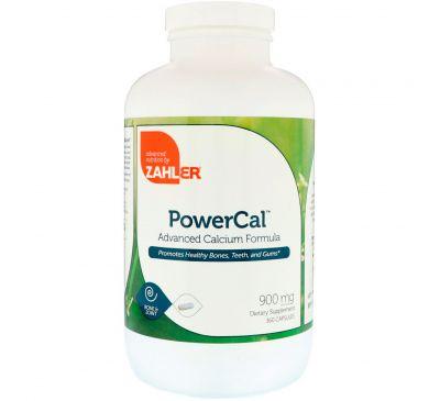 Zahler, PowerCal, улучшенная формула кальция, 900 мг, 360 капсул