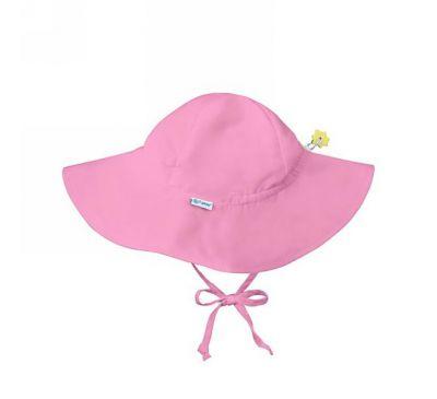 i play Inc., Солнцезащитная шляпа, UPF 50+, для детей в возрасте от 2 до 4 лет, бледно-розовая, 1 шляпа
